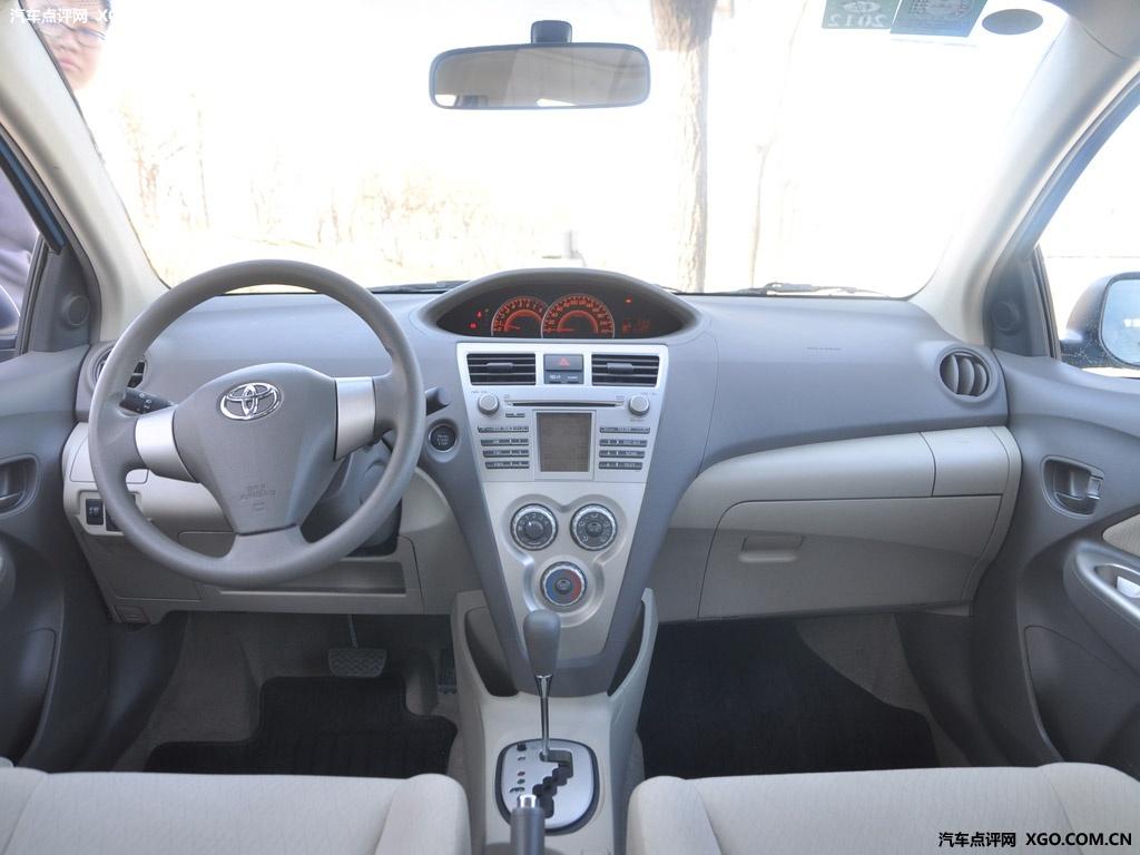 一汽丰田 威驰 GLX i 天窗版AT中控方向盘3045510高清图片