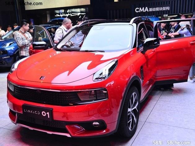 同比增长63% 吉利汽车2017销量1247116辆
