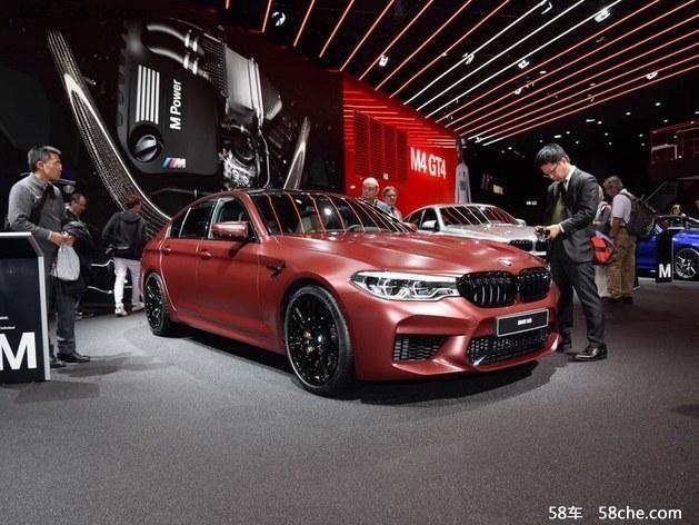 2017广州车展 全新一代宝马M5国内首发