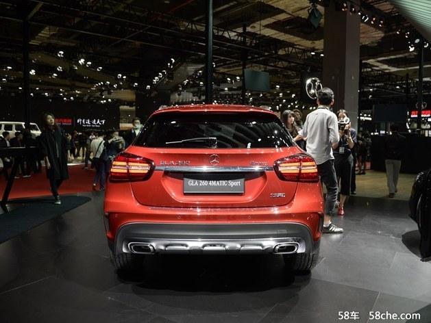 北京奔驰新款GLA上市 售价XX.XX-XX.XX万