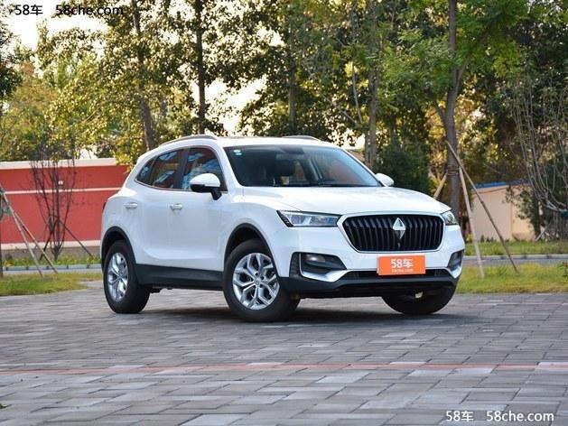 2017广州车展 宝沃新款BX5售15.98万元起